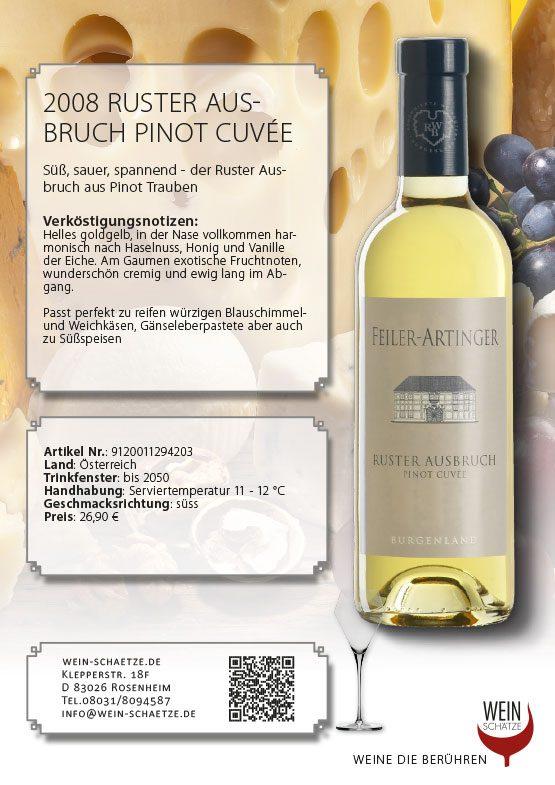 2008 Ruster Ausbruch Pinot Cuvée