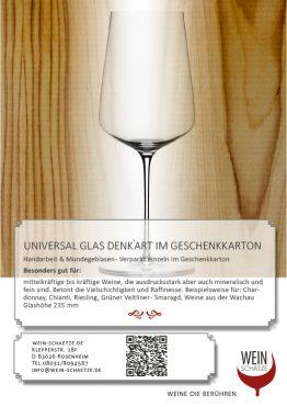 Universal Glas Denk`Art im Geschenkkarton