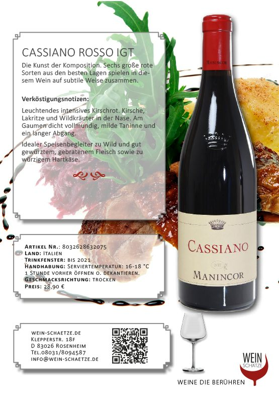 Cassiano Rosso IGT - 8032628632075