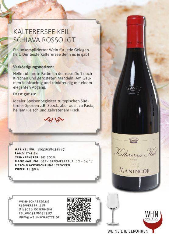 Kalterersee Keil Schiava Rosso IGT - 8032628631887