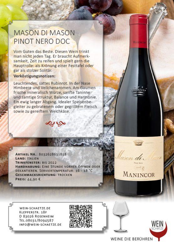 Mason di Mason Pinot Nero DOC - 8032628631818