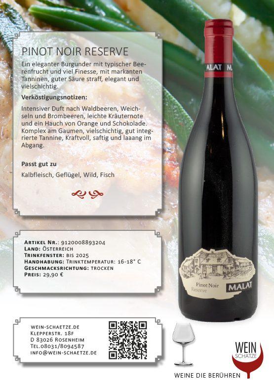 Pinot Noir Reserve - 9120008893204