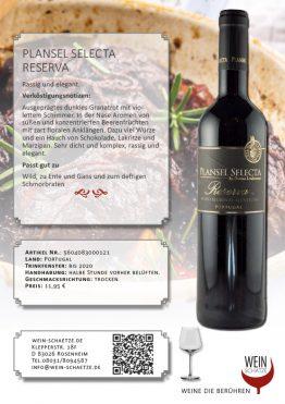 Plansel Selecta Reserva - 5604083000121