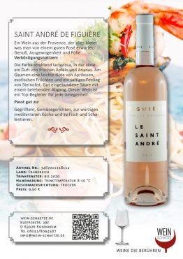 Wein Schätze: Saint André de Figuière - Art.Nr 3467011118112